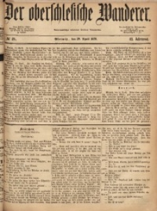 Der Oberschlesische Wanderer, 1870, Jg. 43, No. 48