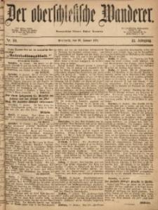 Der Oberschlesische Wanderer, 1871, Jg. 44, Nr. 10