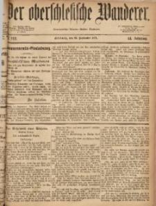 Der Oberschlesische Wanderer, 1871, Jg. 44, Nr. 112