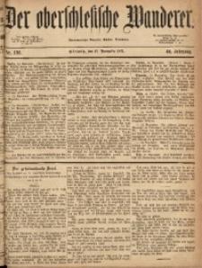 Der Oberschlesische Wanderer, 1871, Jg. 44, Nr. 136