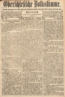 Oberschlesische Volksstimme, 1893, Jg. 19, Nr. 179