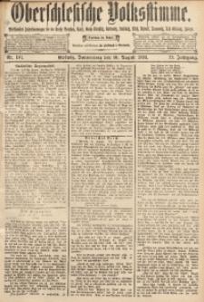 Oberschlesische Volksstimme, 1893, Jg. 19, Nr. 181