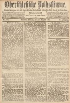 Oberschlesische Volksstimme, 1893, Jg. 19, Nr. 185