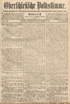 Oberschlesische Volksstimme, 1893, Jg. 19, Nr. 192