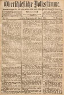 Oberschlesische Volksstimme, 1893, Jg. 19, Nr. 197