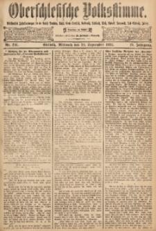 Oberschlesische Volksstimme, 1893, Jg. 19, Nr. 216