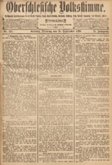 Oberschlesische Volksstimme, 1893, Jg. 19, Nr. 221
