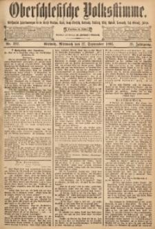 Oberschlesische Volksstimme, 1893, Jg. 19, Nr. 222