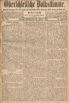 Oberschlesische Volksstimme, 1893, Jg. 19, Nr. 244