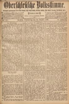 Oberschlesische Volksstimme, 1893, Jg. 19, Nr. 247