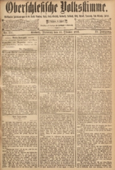 Oberschlesische Volksstimme, 1893, Jg. 19, Nr. 251