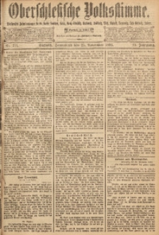 Oberschlesische Volksstimme, 1893, Jg. 19, Nr. 271