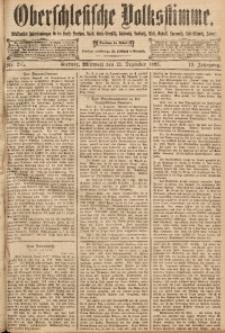 Oberschlesische Volksstimme, 1893, Jg. 19, Nr. 285