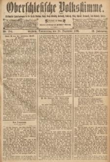 Oberschlesische Volksstimme, 1893, Jg. 19, Nr. 296