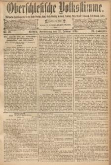 Oberschlesische Volksstimme, 1894, Jg. 20, Nr. 19