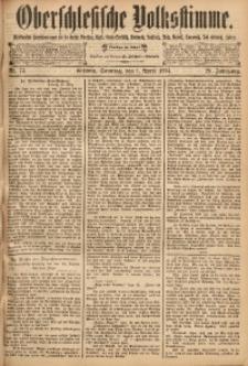 Oberschlesische Volksstimme, 1894, Jg. 20, Nr. 73