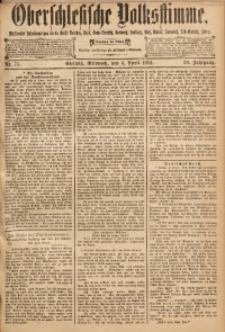 Oberschlesische Volksstimme, 1894, Jg. 20, Nr. 75