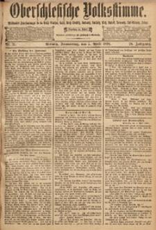 Oberschlesische Volksstimme, 1894, Jg. 20, Nr. 76