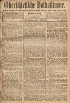 Oberschlesische Volksstimme, 1894, Jg. 20, Nr. 77