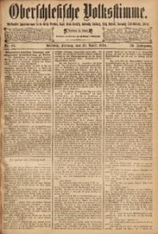 Oberschlesische Volksstimme, 1894, Jg. 20, Nr. 83
