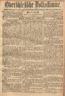 Oberschlesische Volksstimme, 1894, Jg. 20, Nr. 177