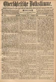 Oberschlesische Volksstimme, 1894, Jg. 20, Nr. 178