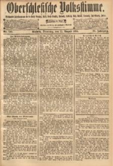 Oberschlesische Volksstimme, 1894, Jg. 20, Nr. 190
