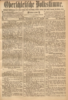 Oberschlesische Volksstimme, 1894, Jg. 20, Nr. 194