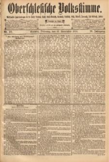 Oberschlesische Volksstimme, 1894, Jg. 20, Nr. 261