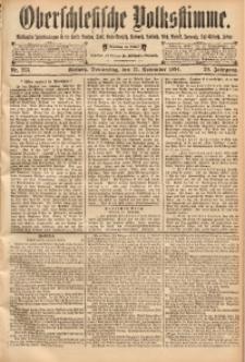 Oberschlesische Volksstimme, 1894, Jg. 20, Nr. 263
