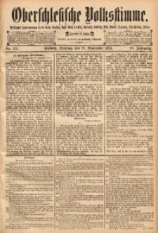 Oberschlesische Volksstimme, 1894, Jg. 20, Nr. 272