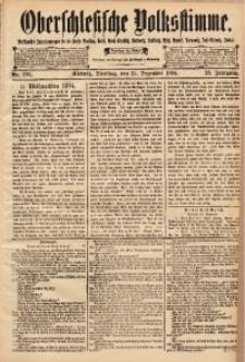 Oberschlesische Volksstimme, 1894, Jg. 20, Nr. 296