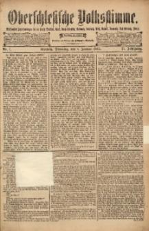 Oberschlesische Volksstimme, 1895, Jg. 21, Nr. 1