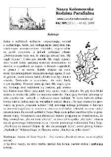 Nasza Kolonowska Rodzina Parafialna 2019, nr 4 (1309).