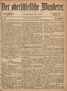 Der Oberschlesische Wanderer, 1872, Jg. 45, Nr. 4