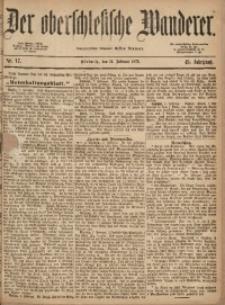 Der Oberschlesische Wanderer, 1872, Jg. 45, Nr. 17