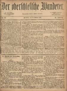 Der Oberschlesische Wanderer, 1872, Jg. 45, Nr. 18