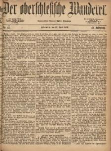 Der Oberschlesische Wanderer, 1872, Jg. 45, Nr. 42