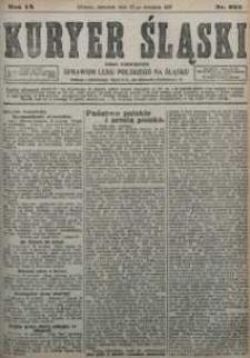 Kuryer Śląski, 1917, R. 9 [właśc. 11], nr 222
