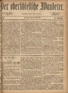 Der Oberschlesische Wanderer, 1872, Jg. 45, Nr. 86