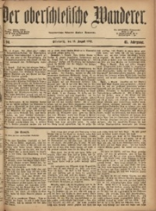 Der Oberschlesische Wanderer, 1872, Jg. 45, Nr. 94