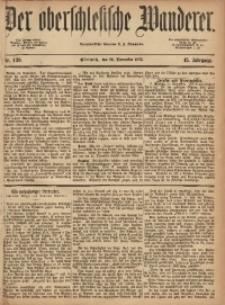 Der Oberschlesische Wanderer, 1872, Jg. 45, Nr. 139