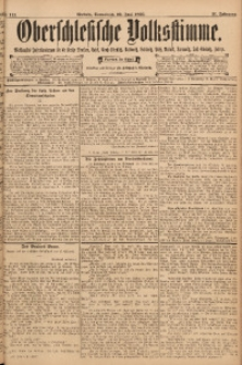 Oberschlesische Volksstimme, 1895, Jg. 21, Nr. 141