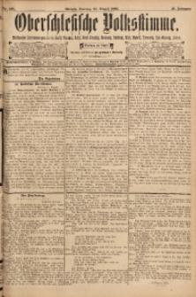 Oberschlesische Volksstimme, 1895, Jg. 21, Nr. 195