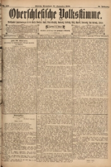 Oberschlesische Volksstimme, 1895, Jg. 21, Nr. 218