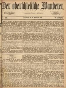 Der Oberschlesische Wanderer, 1873, Jg. 46, Nr. 137