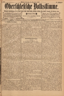 Oberschlesische Volksstimme, 1895, Jg. 21, Nr. 289