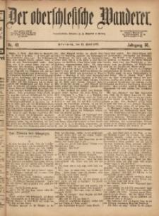 Der Oberschlesische Wanderer, 1877, Jg. 50, Nr. 43