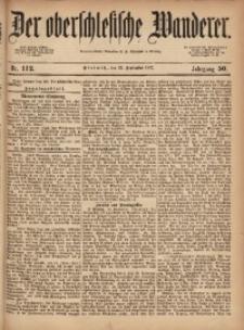 Der Oberschlesische Wanderer, 1877, Jg. 50, Nr. 112