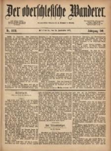 Der Oberschlesische Wanderer, 1877, Jg. 50, Nr. 113